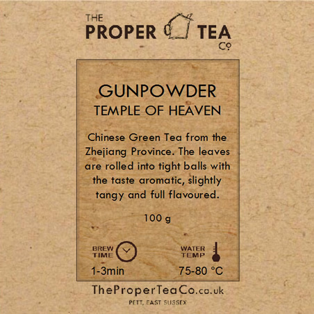 "Gunpowder ""Temple of Heaven"""
