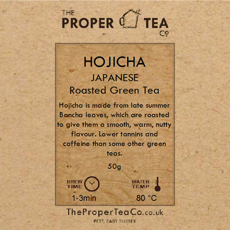 Hojicha - Japanese Roasted Green Tea