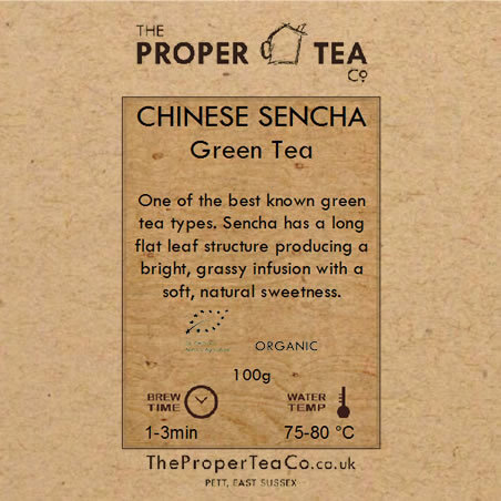 Organic China Sencha Green Tea