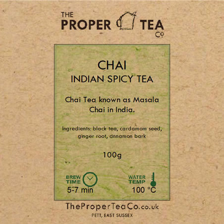 Chai Indian Spicy Tea