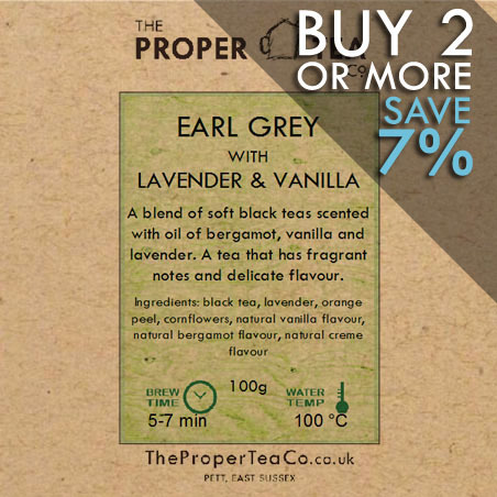 Earl Grey with Lavender & Vanilla