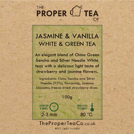 Jasmine & Vanilla White & Green Tea