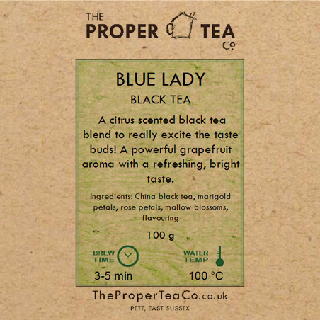 Blue Lady - Grapefruit Black Tea