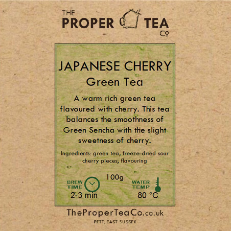 Japanese Cherry Green Tea