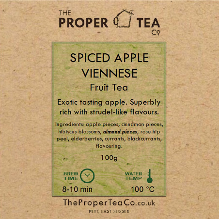 Spiced Apple Viennese Fruit Tisane