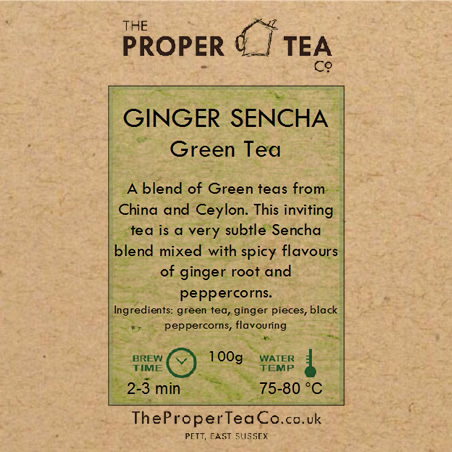 Ginger Sencha Green Tea