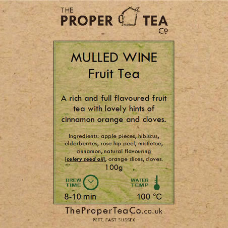 Mulled Wine Fruit Tea