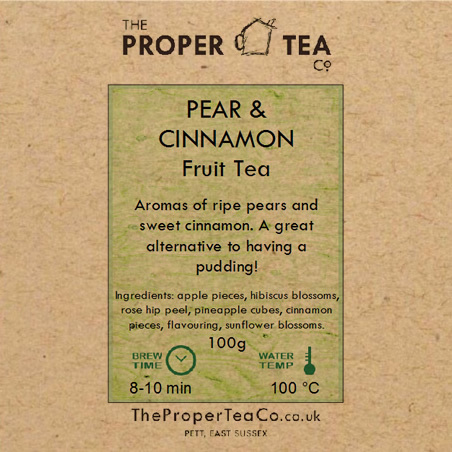 Pear & Cinnamon Fruit Tea