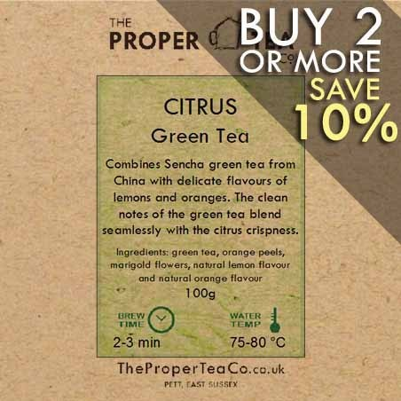 Citrus Green Tea
