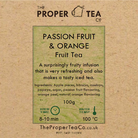 Passion Fruit & Orange Fruit Tisane