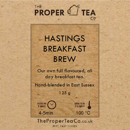 Pett Village Tea: Hastings Breakfast Brew