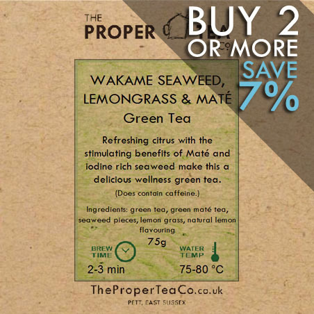 Wakame Seaweed, Lemongrass & Maté Green Tea