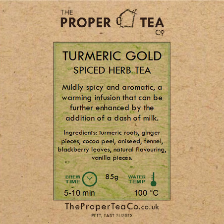 Turmeric Gold Spiced Herb Tea