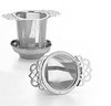 Stainless steel cup/mug infuser with drip tray, Ø 5.5 cm