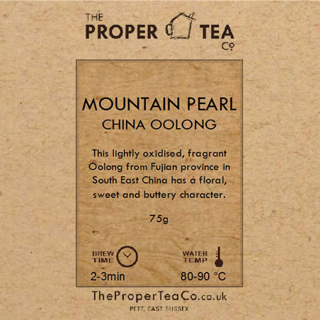Mountain Pearl - China Oolong