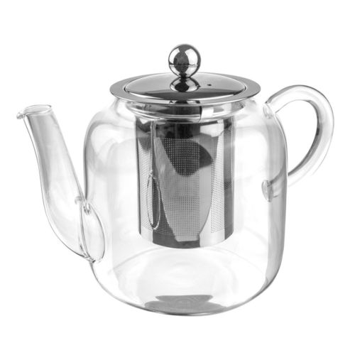 800ml Glass Teapot & Stainless Steel Infuser