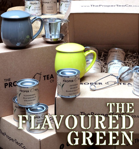 Flavoured Green Tea Gift Box Selection