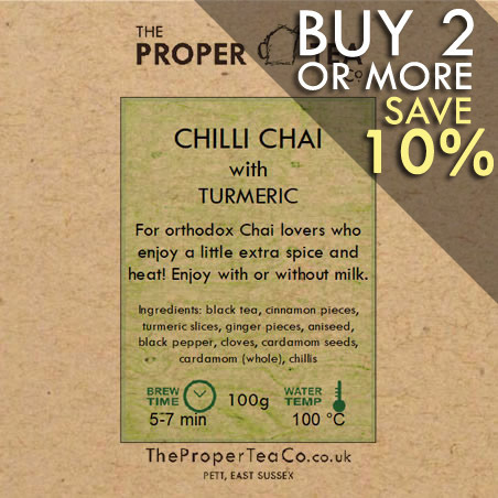 Chilli Chai with Turmeric